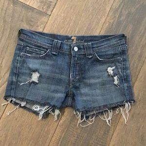 Seven for All Mankind   Distressed Shorts   27